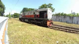 getlinkyoutube.com-Reyen lokomotif CC 201 100 di depan Balaiyasa Yogyakarta