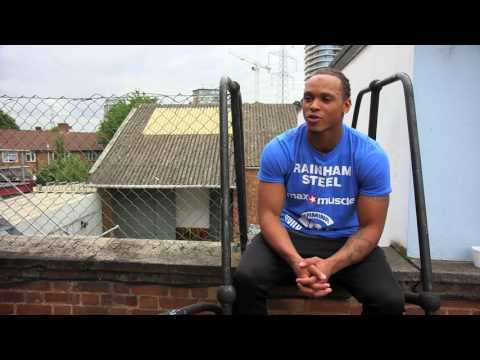 ( UK Raising Star ) Anthony Yarde - Fighter By Trade @mranthonyyarde #boxing