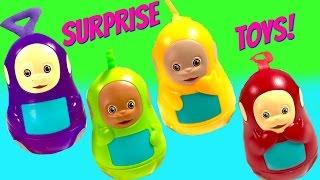 getlinkyoutube.com-Teletubbies Stacking Cups Nesting Eggs Surprise Toys Play Doh Shopkins Huevos Sorpresa