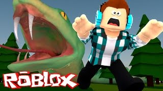 getlinkyoutube.com-Roblox - FUJA DA COBRA GIGANTE !!