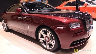 getlinkyoutube.com-2015 Rolls-Royce Wraith - Exterior and Interior Walkaround - 2015 Geneva Motor Show