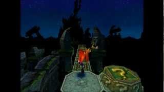getlinkyoutube.com-Crash Bandicoot 2 - Road to Ruin: 1st & 2nd Clear Gem [All Gems Walkthrough]