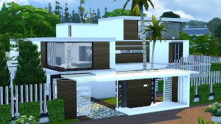 getlinkyoutube.com-BEST MODERN HOUSE The Sims 4 - Villa Mansion