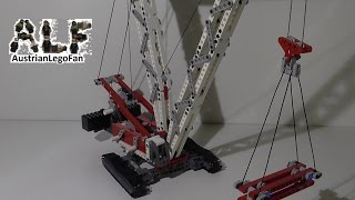getlinkyoutube.com-Lego Technic 8288 Crawler Crane / Raupenkran - Lego Speed Build Review
