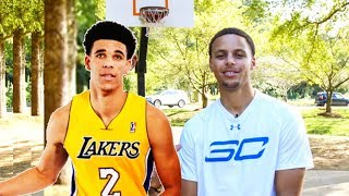 Can Stephen Curry Beat Lonzo Ball in a Game of H-O-R-S-E?