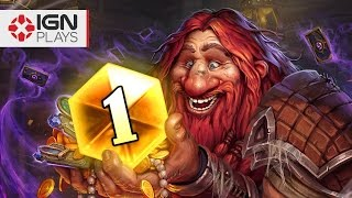 getlinkyoutube.com-Is Getting Legend in Hearthstone Easy? - IGN Plays