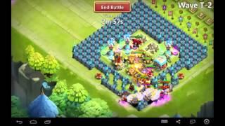 #74 Castle Clash - Orz3ch vs hbm T !!!