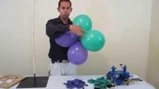 getlinkyoutube.com-Como hacer un Arco de globos - decoraciones con globos