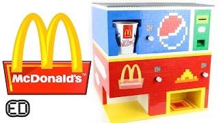 getlinkyoutube.com-The Lego McDonald's Machine | Big Macs and Pepsi