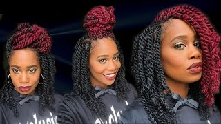 getlinkyoutube.com-Havana Twists with FingerComber Hair | MissKenK