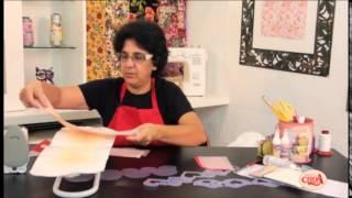 getlinkyoutube.com-Passo a Passo - Alciana Rossi ensina fazer um pano de fogão com as réguas da Isamara Custódio.