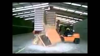 getlinkyoutube.com-Accidentes con Montacargas