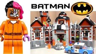 getlinkyoutube.com-Лего Фильм Бэтмен 70912 Клиника Аркхэм. Обзор набора Lego Batman Movie