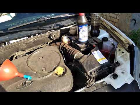 Замена масла в МКПП с тросовым приводом на Гранте