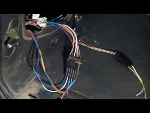 Где находится датчик фонарей заднего хода у FIAT Scudo