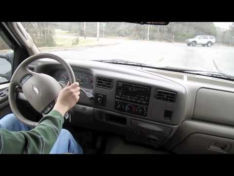 Test Drive the 2003 Ford F350 Lariat Super Duty Powerstroke Dually (Start Up, Engine, Tour)