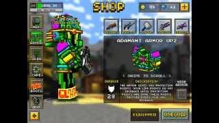 getlinkyoutube.com-Pixel Gun 3D: FULL ADAMANT ARMOUR