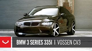 "getlinkyoutube.com-BMW 3 Series 335i on 20"" Vossen VVS-CV3 Concave Wheels / Rims"