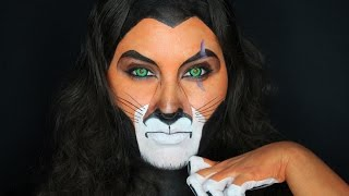 getlinkyoutube.com-Scar Face Paint Tutorial