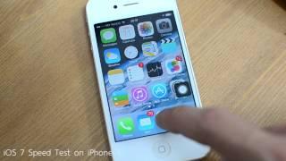 getlinkyoutube.com-iOS 7 Speed Test on iPhone 4