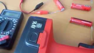 getlinkyoutube.com-Ремонт аккумулятора шуруповерта Fairline.