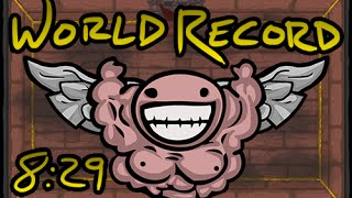 getlinkyoutube.com-The Binding of Isaac - World Record Speed Run to the Chest (08:29.69) (07/12/2014)