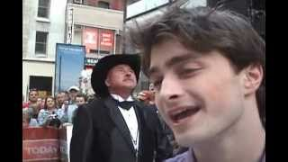Daniel Radcliffe at HBP Premiere New York