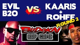 Booba VS Kaaris & Rohff (Budokai Rap Game)