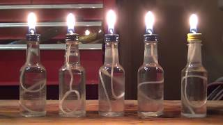 How to make small oil candles - HD
