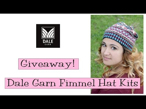 Giveaway!  Dale Garn Fimmel Hat Kits
