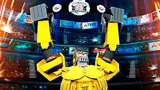 Real Steel WRB Championship Excavator VS ALL World Robot Boxing II Old School (Живая Сталь)