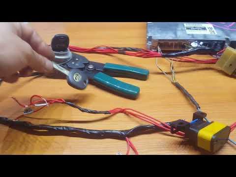 "2jz ge swap: готовая проводка ""поставил и завел"" + ключи"