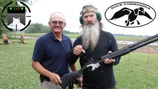getlinkyoutube.com-Skeet shooting with Duck Commander and Jerry Miculek in Slow-Mo!