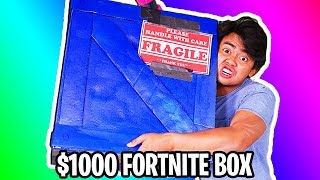 UNBOXING a $1000 Fortnite Mystery Box!