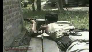 getlinkyoutube.com-Baku Tembak GAM dengan TNI