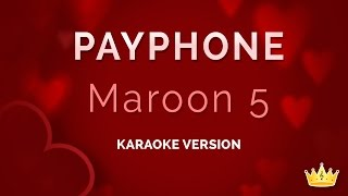 getlinkyoutube.com-Maroon 5 ft. Wiz Khalifa - Payphone (Karaoke Version)