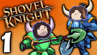 getlinkyoutube.com-Shovel Knight Co-Op: Bouncin' Away - PART 1 - Game Grumps