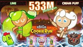 getlinkyoutube.com-CookieRun 533M [EP.3] Lime+CreamPuff มะนาว+ชูครีม [Perfect] | xBiGx