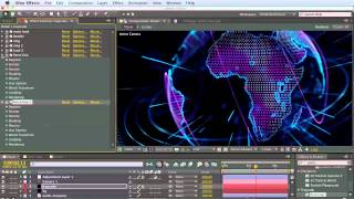 getlinkyoutube.com-Tutorial 1: Create Trapcode Planet from scratch step-by-step