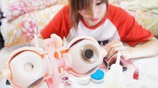 getlinkyoutube.com-【blythe doll♡ブライス人形】アイギミック制作①~型取り~