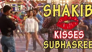 Shakib Kisses Subhasree||Nabab-Unseen Shots||Soloana||Shakib Khan||Subhasree Ganguli