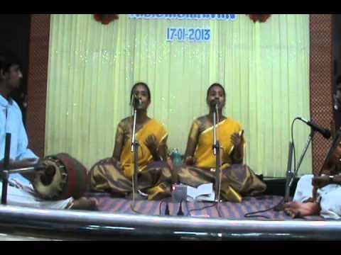 Bhoologa vaikundam Srirangame- Sujitha and Madhuvanthi...