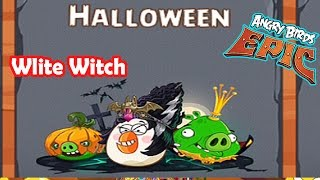 getlinkyoutube.com-Angry Birds Epic: Upcoming Even (Halloween) Matilda Wlite Witch Helm Upgrade