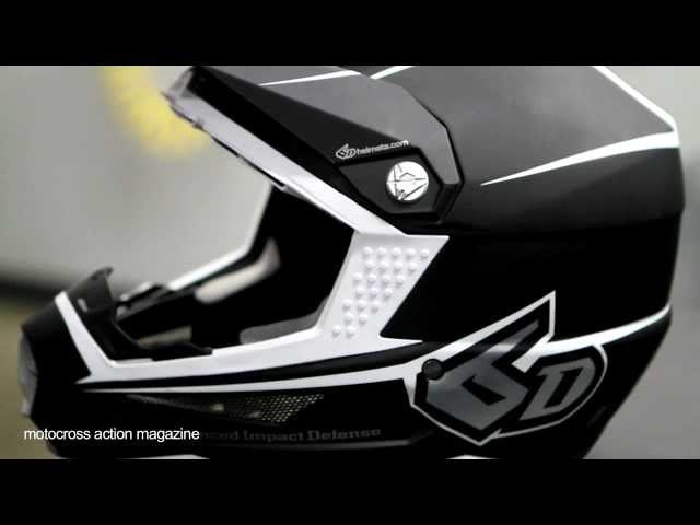 The new 6D helmet-Motocross Action Magazine