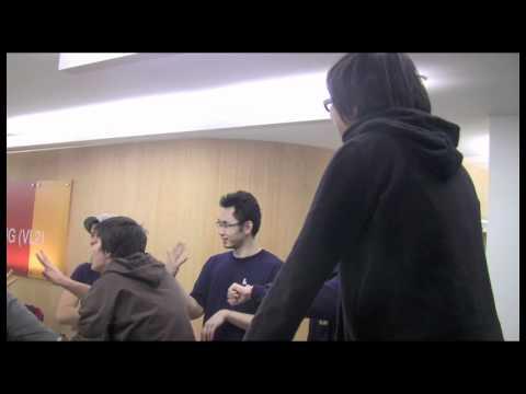 Hong Kong Sign Language class at Gallaudet University