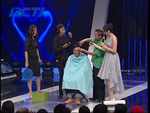 Cukur Rambut Sambil Nyanyi Lagu Afgan - Bukan Talent Biasa 17 Juni 2014