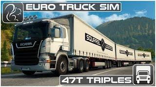 47T Triples   Frankfurt To Innsbruck (Euro Truck Simulator 2)