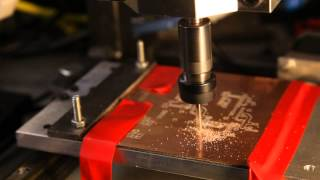 getlinkyoutube.com-PCB Milling test on my homemade desktop CNC Milling Machine