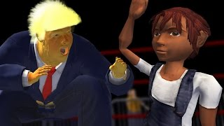 getlinkyoutube.com-TRUMP FIGHTS SMALL CHILDREN - Mr. President: Rump Rumble