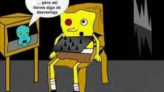 getlinkyoutube.com-Re: Bob esponja en el juego macabro (saw2) La mascara letal